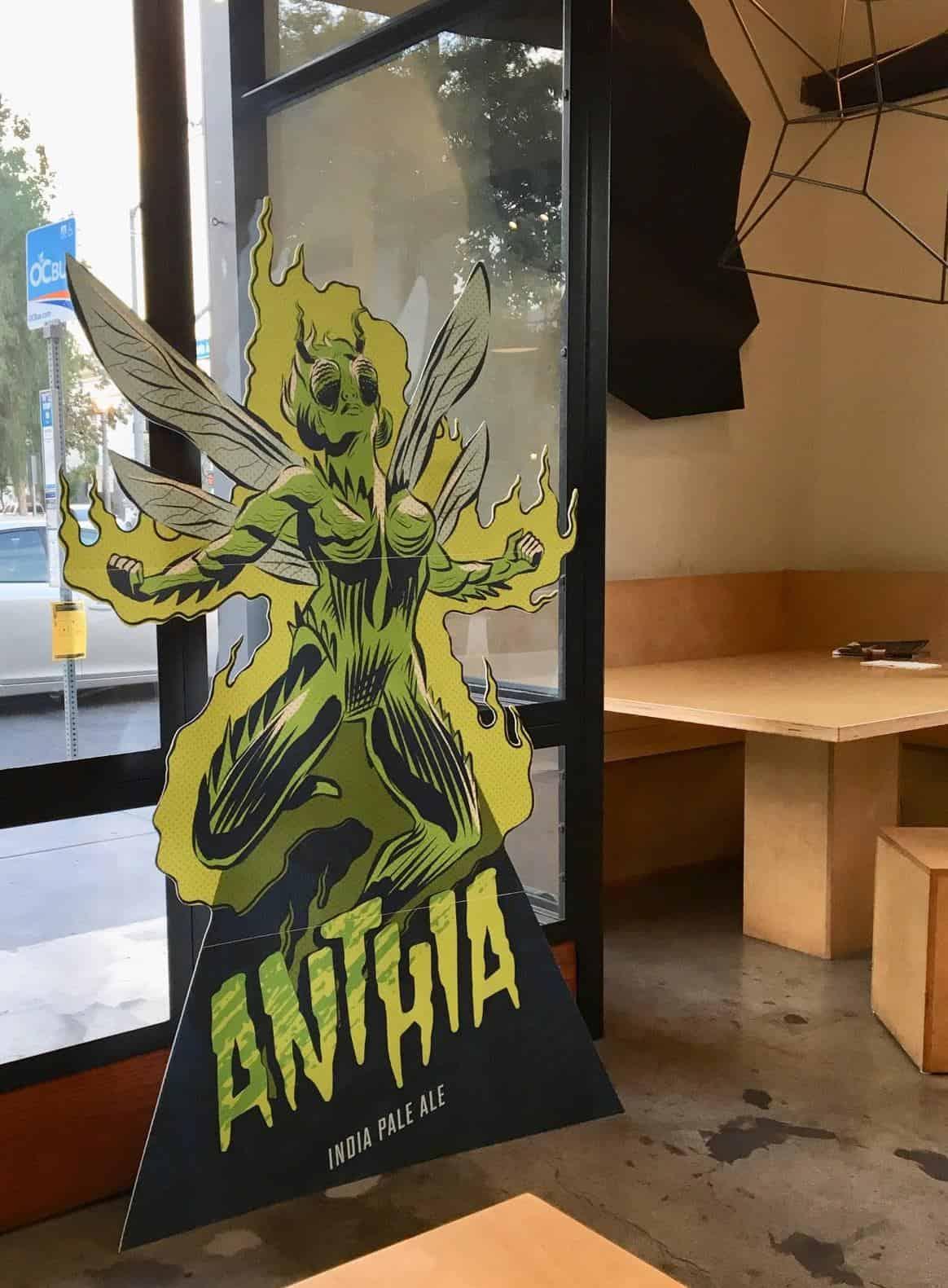 Anthia Life Size Cutout