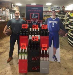 Liquor Store Standee