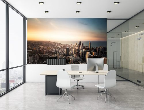 Home Office Wall Mural Ideas: Transform Your Workspace