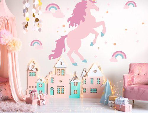 Top 10 Murals & Wall Decals for Girls' Rooms