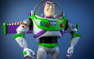 Buzz Lightyear appears in Toy Story 4.
