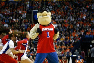 Dayton Flyers mascot.