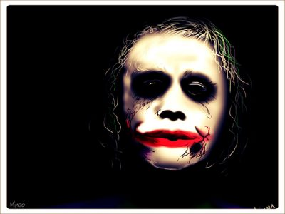 Illustration of the Joker.