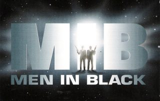 Men in Black promotional poster.