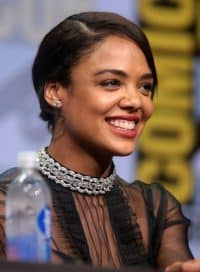 Men in Black actress Tessa Thompson.