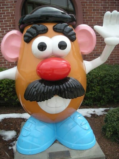Mr. Potatohead is ready for Toy Story 4.