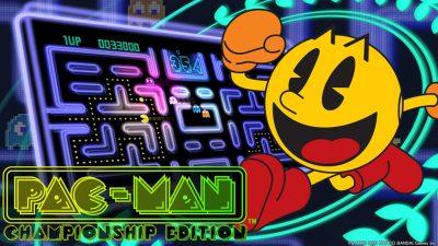 Pac-Man Championship Edition screenshot.