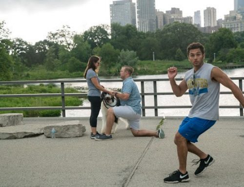 Customer Spotlight: Photobombing Jogger Proposal Goes Viral