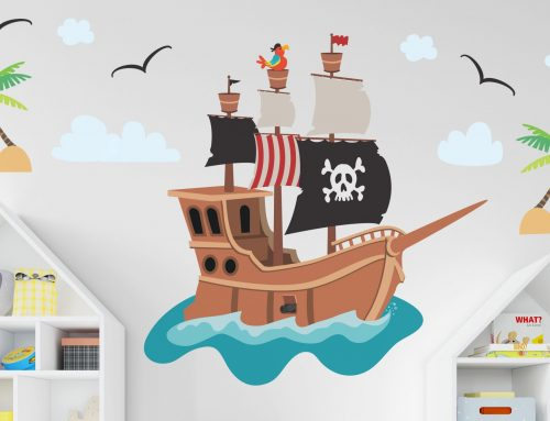 How to Use Wall Decals for Kids Room Decorating