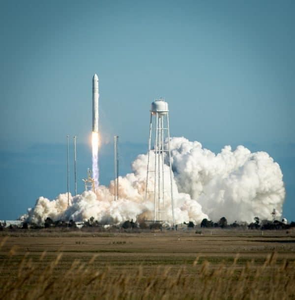 Antares rocket launch.