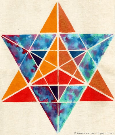 Colorful sacred geometry.