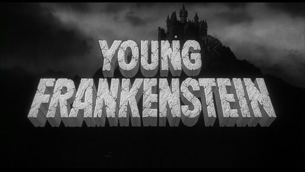 Opening shot from Young Frankenstein movie.