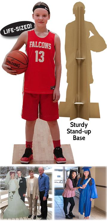 Custom Cardboard Cutouts & Lifesize Standees