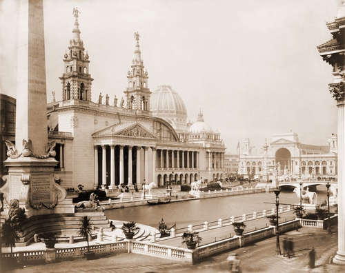 Historic trade shows include the 1893 World's Columbian Exposition