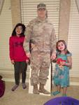 military dad cutout